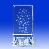 "Crystal Stars 3"" High 4C071L"