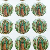 Our Lady of Guadalupe Stickers CR046L(12 stickers)