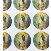 Immaculate Conception Stickers CR046C(12 stickers)
