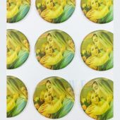 Madonna Religous Stickers CR046M(12 stickers)