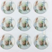 Pope John Paul II Stickers CR046PO(12 stickers)