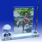 Crystal Photo Penholder HL015