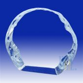 Crystal Round Plaque  HL039
