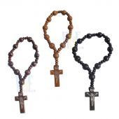 One Decade Wooden Rosary JA177