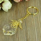 Crystal angel keychain JK138