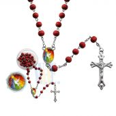 Scented Wooden Rosary - Confirmation JN018CF