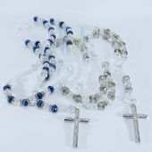 Crystal Fashion Rosary Necklace JN202