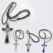 St. Benedict Cross Necklace  JN297