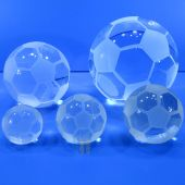 Crystal Soccer Ball TH000Soc (Size: Small)