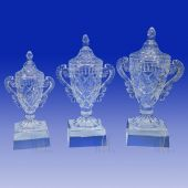 Crystal Cup Trophy TH144 (Size: Small)